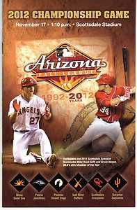 League Championship Program Bryce Harper Mike Trout on Cover