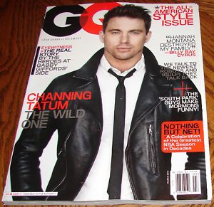 Channing Tatum The Wild One GQ Magazine March 2011 Hot