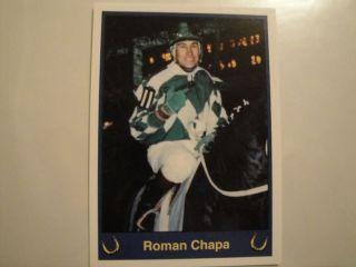 Horse Racing Jockey Card Roman Chapa 1999