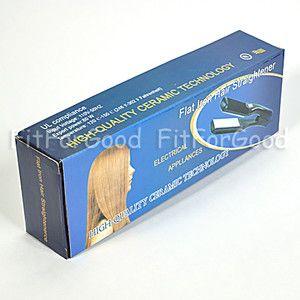 Ceramic Flat Iron Hair Straightener High Quality New