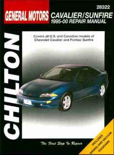 Chevy Cavalier Pontiac Sunfire Repair Shop Manual 1995 1996 1997 1998