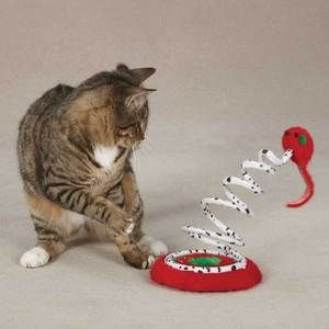 Tree Teasers Cats Toys Interactive Rattle Filled Mouse Cat Toy