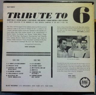 by vince catalano buddy holly jese belvin ritchie valens big bopper