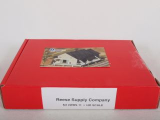 Structures WRS11 HO Wood Building Kit Reese Supply Company