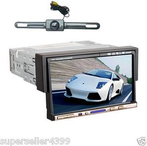 inch Touchscreen 1 DIN in Car Deck CD DVD Player Radio FM Stereo