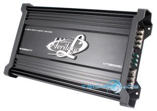 Lanzar HTG2100D 2400W Max Monoblock Class D MOSFET Power Car Subwoofer