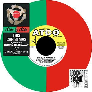 rare CEELO GREEN DONNY HATHAWAY this christmas Black Friday RSD COLOR