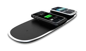 Powermat Home Office Mat Wireless Charger iPhone iPod