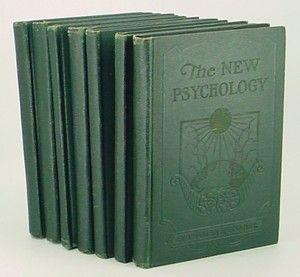 The New Psychology CHARLES F HAANEL Master Key System 7 Volume Set 1st