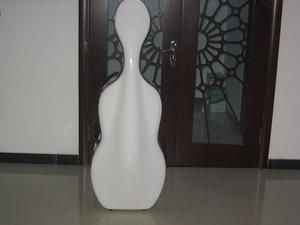 High Quality Carbon Fiber Cello Case Wheells 4 4