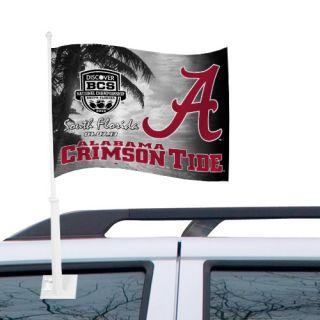 Crimson Tide 2013 BCS National Championship Game Bound Car Flag