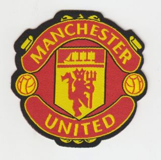 Manchester United Iron on Patch Transfer Sew on Badge