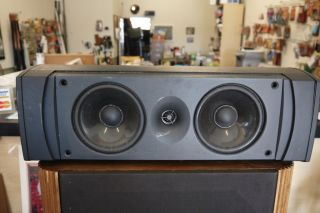 bidding on an Infinity Center Channel Speaker Model CC 2. Speaker