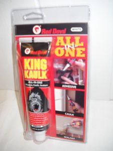 Red Devil King Kaulk All in One Adhesive Caulk Sealant
