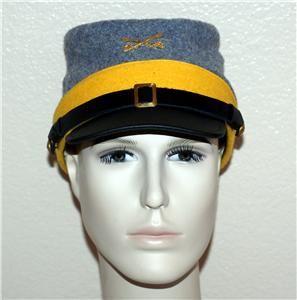 Confederate Rebel CSA Civil War Cavalry Kepi Cap Hat