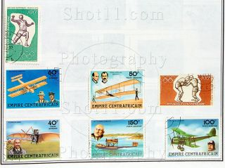 Central Africa Stamps 1980 Lake Placid Olympic Military Uniforms