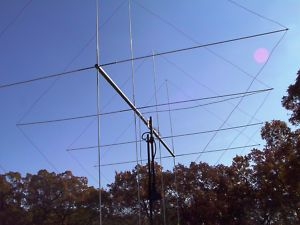 L4 TRUE QUAD CB BASE ANTENNA 8000 WATTS H V SWICHTABLE POLARITY