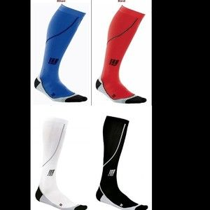 CEP Mens Run Progressive Compression Socks Choice of Black Blue Red