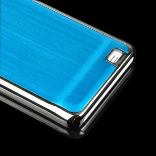 Cerulean Brushed Metal Aluminum Hard Case for Samsung Galaxy S2 II