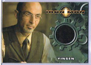 2008 Iron Man Movie Shaun Toub as Yinsen Costume Card