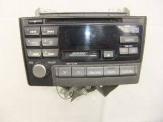 am fm stereo cassette cd player radio nissan maxima 2000 bose thru 2