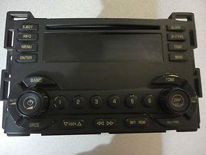 Car Stereo Malibu Chevrolet CD Player FM Radio for Parts