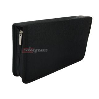 80 Disc CD DVD Holder DJ Storage Case Organizer Wallet Cover Bag Box