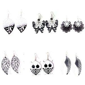 Handmade Fashion Cute Dangle Ball Chain Charm Earring Jewelry