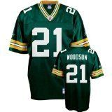 CHARLES WOODSON GREEN BAY PACKERS GREEN # 21 REPLICA MENS JERSEY LARGE