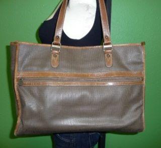 Vintage Charles Jourdan Large Shopper Tote Shoulder Bag Tote Purse