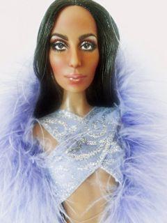 Bob Mackie 70s  Cher  Repaint OOAK Wearing Timeless Treasures