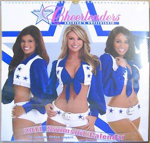 2011 Dallas Cowboy Cheerleaders 15x15 Wall Calendar