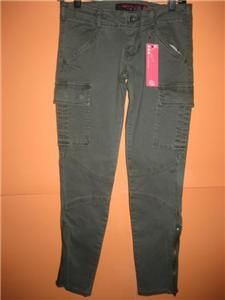 Celebrity Pink Jeans Twenty One Olive Green Skinny Jeans NWT MSRP $22