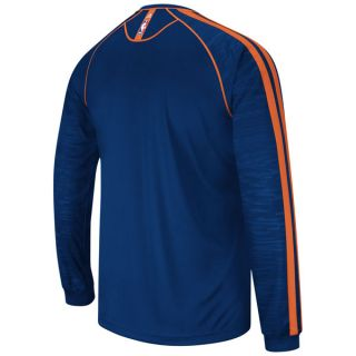 Charlotte Bobcats Adidas 2012 2013 Authentic on Court Long Sleeve