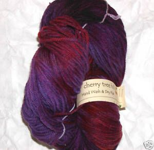 Cherry Tree Hill 100 Worsted Wool 300 yds Amber