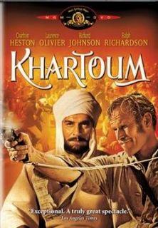 Khartoum Charlton Heston Lawrence Olivier 1966 DVD New