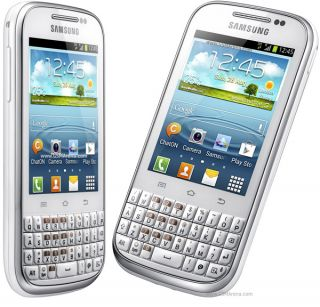 Samsung Chat B5330 Android 4 Ice Cream Sandwich 4GB Internal GPS 3G