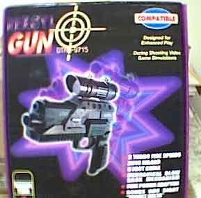 New PSX PlayStation Rekoyl w Scope Guncon Light Gun Gun Con