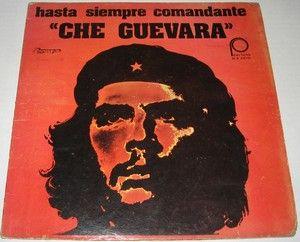 Molina Hasta Siempre Comandante Che Guevara LP Cuba Revolution