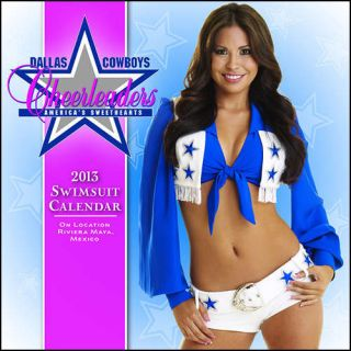 Dallas Cowboys Cheerleaders 2013 Desk Calendar