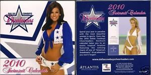 Dallas Cowboys Cheerleaders 2010 Swimsuit Desk Calendar