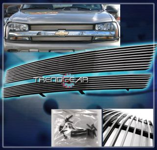 2002 2005 Chevy Trailblazer Front Upper Billet Grille 2003 2004 Sport