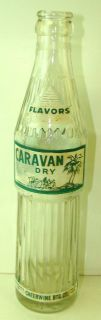 Vintage Caravan Soda Bottle Cheerwine Btg Co