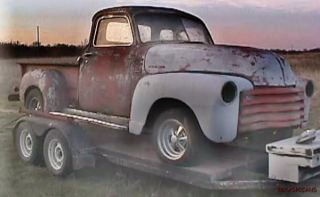 v1chevytr, 1950 CHEVROLET CHEVY 5 WINDOW PICKUP PROJECT TRUCK or RAT
