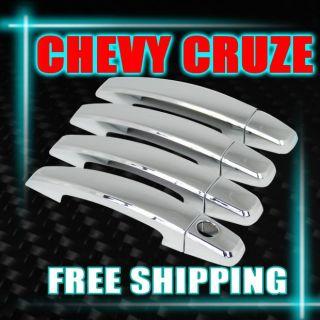 For 2009 2011 Chevrolet Cruze Spark Captiva Chrome Side Door Handle