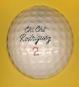 Signature Vintage Chi Chi Rodriguez Logo Golf Ball