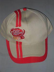 DR PEPPER CHERRY VANILLA BASEBALL CAP NEW HAT COCA COLA PRODUCT