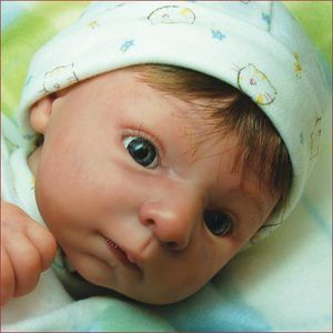 Diana kit for reborn. 18 doll kit WITH BODY AND EYES! You pick the