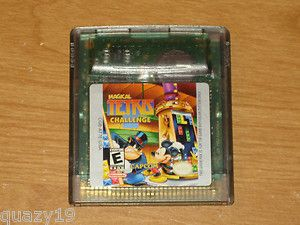 Magical Tetris Challenge Nintendo Game Boy Color 2000 013388240012