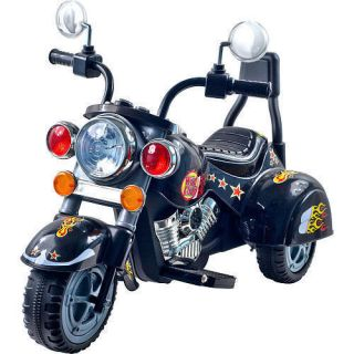 Sale EZ Rider Wild Child Black Motorcycle Tricycle Ride on Toy Battery